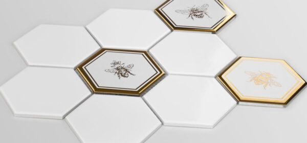 RawDecor-HEKSAGON-XL-GOLD-BEE