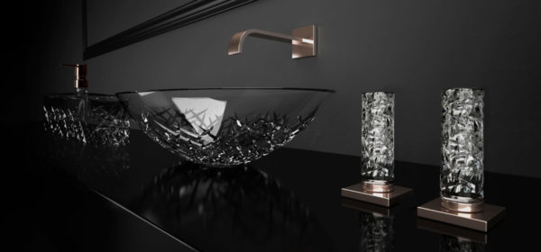 Glassdesign Glamorous Ice Oval